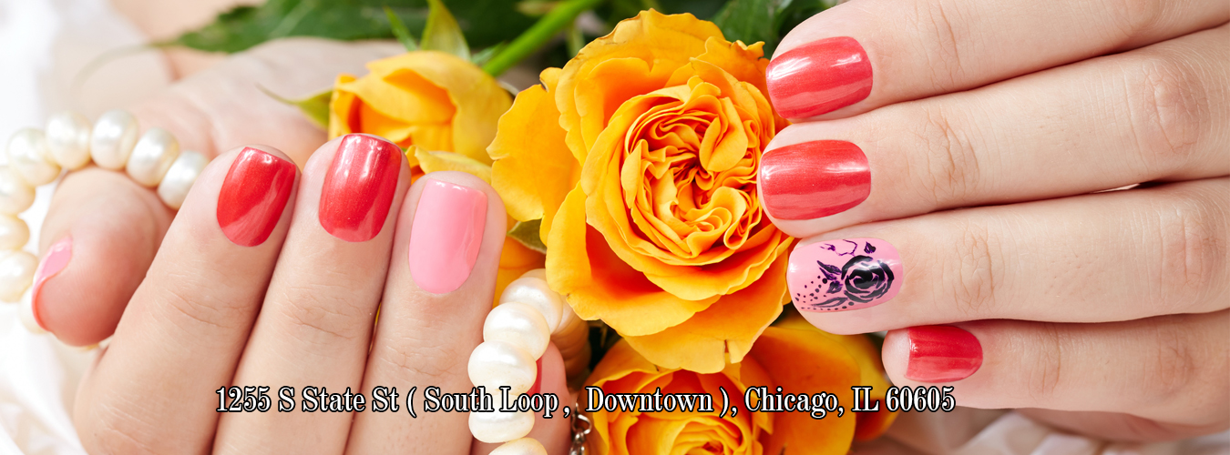123 Nail Salon 60605 | Chicago IL | South Loop, Downtown